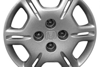 "Replace® - 14"" Remanufactured 12-Spoke Silver Wheel Cover"
