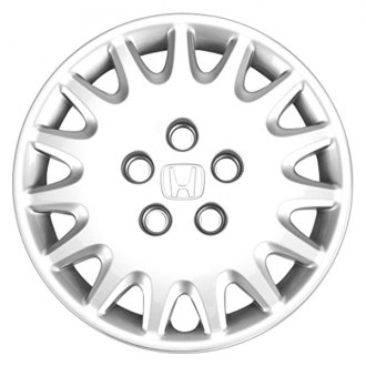 "Replace® - 15"" Remanufactured 15 Spokes Silver Wheel Cover"