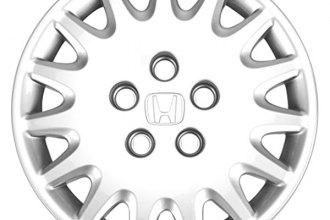 "Replace® - 15"" Remanufactured 15-Spoke Silver Wheel Cover"
