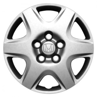 "Replace® - 15"" Remanufactured 6 Spokes All Painted Silver Wheel Cover"