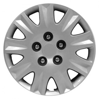 "Replace® - 15"" Remanufactured 9 Spokes Silver Wheel Cover"