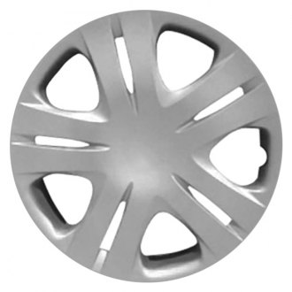 "Replace® - 15"" 10 Spokes All Painted Silver Wheel Cover"