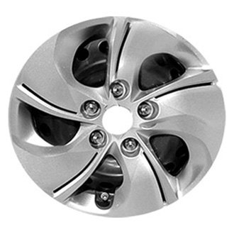 Replace® - 15'' 5 Twisted Spokes Silver Wheel Cover