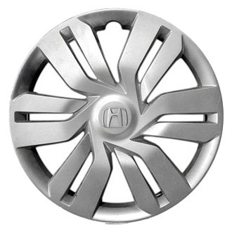 "Replace® - 15"" Remanufactured 6 Double Spokes All Painted Silver Wheel Cover"