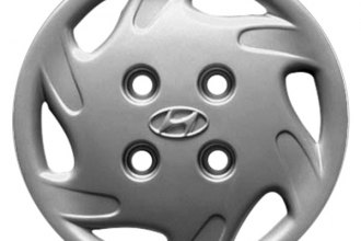 "Replace® - 13"" Remanufactured 6-Slot Silver Wheel Cover"