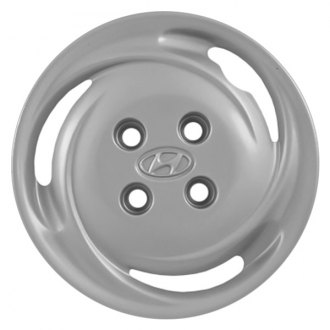 "Replace® - 14"" Remanufactured 3 Slots Silver Wheel Cover"