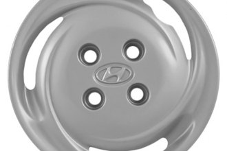 "Replace® - 14"" Remanufactured 3-Slot Silver Wheel Cover"