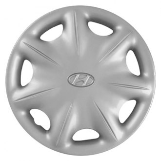 "Replace® - 14"" Remanufactured 7 Spokes Silver Wheel Cover"