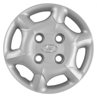 "Replace® - 13"" Remanufactured 6 Slots Silver Wheel Cover"
