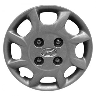 "Replace® - 14"" Remanufactured 8 Slots Silver Wheel Cover"