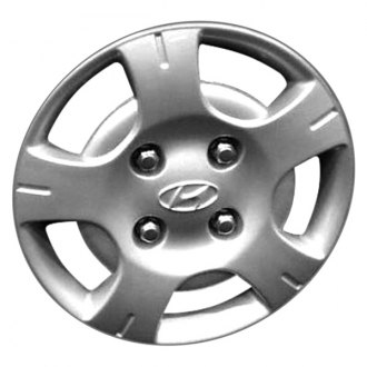 "Replace® - 13"" Remanufactured 5 Slots Silver Wheel Cover"