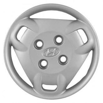 "Replace® - 14"" Remanufactured 3 Spokes Silver Wheel Cover"