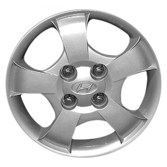 "Replace® - 13"" 5 Spokes Silver Wheel Cover"