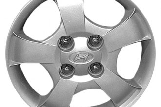 "Replace® - 13"" Remanufactured 5-Spoke Silver Wheel Cover"