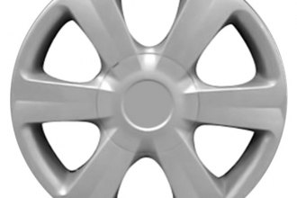 "Replace® - 14"" Remanufactured 6-Spoke Silver Wheel Cover"