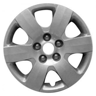 "Replace FWC55556U20 - 16"" Remanufactured 6 Spokes Silver Wheel Cover"