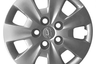 "Replace® - 15"" Remanufactured 7-Spoke Silver Wheel Cover"
