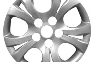 "Replace® - 15"" Remanufactured 5-Spoke Silver Wheel Cover"