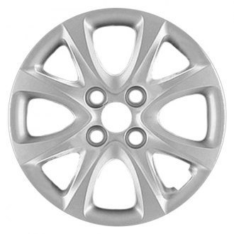"Replace® - 14"" Remanufactured 8 Spokes Flat Silver Wheel Cover"