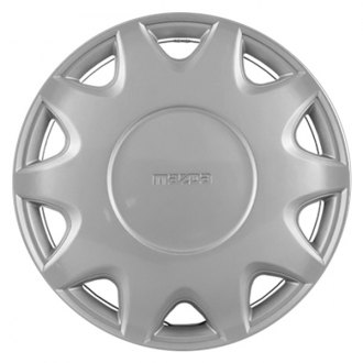 "Replace® - 14"" Remanufactured 10 Slots Silver Wheel Cover"