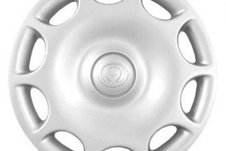 "Replace® - 14"" Remanufactured 10-Hole Silver Wheel Cover"