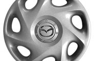 "Replace® - 14"" Remanufactured 7-Slant-Spoke Silver Wheel Cover"