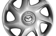 "Replace® - 15"" Remanufactured 7-Slant-Spoke Silver Wheel Cover"