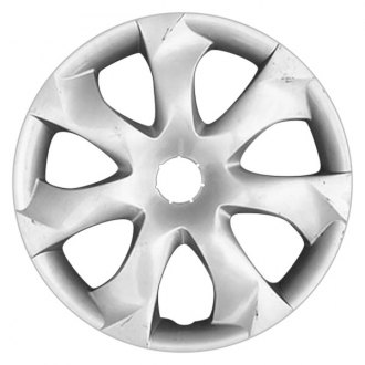 "Replace® - 16"" Remanufactured 7 Spokes All Painted Silver Wheel Cover"
