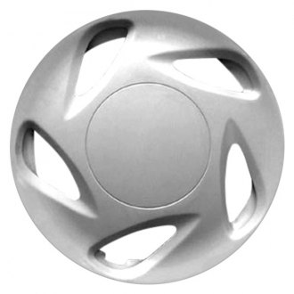 "Replace FWC57510U20 - 13"" Remanufactured 5 Slots Silver Wheel Cover"