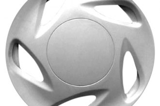 "Replace® - 13"" Remanufactured 5-Slot Silver Wheel Cover"