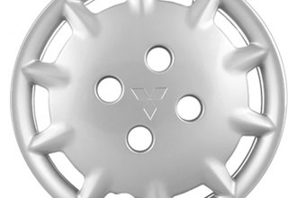 "Replace® - 14"" Remanufactured 10-Slot Silver Wheel Cover"