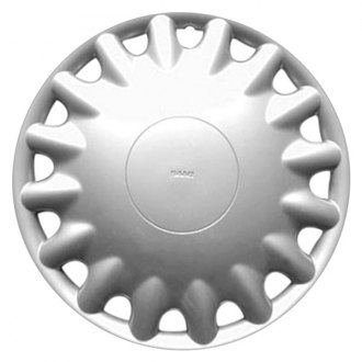 "Replace® - 15"" Remanufactured 16 Spokes Silver Wheel Cover"