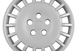 "Replace® - 15"" Remanufactured 18-Spoke Silver Wheel Cover"