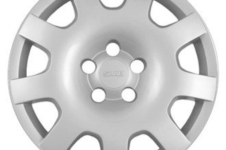 "Replace® - 16"" Remanufactured 9-Spoke Silver Wheel Cover"