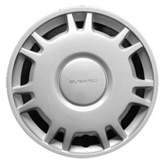 "Replace® - 14"" Remanufactured 14 Spokes Silver Wheel Cover"