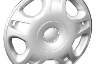 "Replace® - 15"" Remanufactured 5-Double-Spoke Silver Wheel Cover"