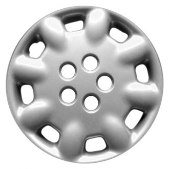 "Replace FWC61048U20 - 14"" Remanufactured 8 Spokes Silver Wheel Cover"