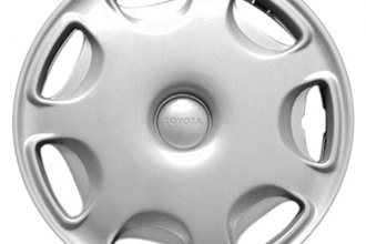 "Replace® - 15"" Remanufactured 7-Hole Silver Wheel Cover"