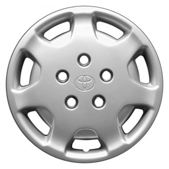 "Replace® - 14"" Remanufactured 7 Holes Silver Wheel Cover"