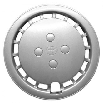 "Replace FWC61066U20 - 13"" Remanufactured 18 Holes Silver Wheel Cover"