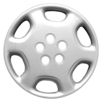 "Replace FWC61072U20 - 15"" Remanufactured 6 Spokes Silver Wheel Cover"