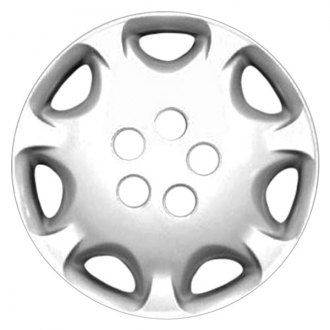 "Replace FWC61074U20 - 14"" Remanufactured 7 Holes Silver Wheel Cover"