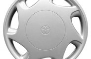 "Replace® - 14"" Remanufactured 7-Hole Silver Wheel Cover"