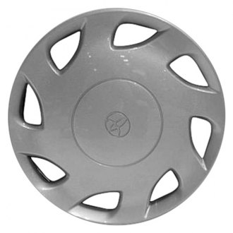 "Replace® - 15"" Remanufactured 8 Holes Silver Wheel Cover"