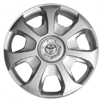 "Replace® - 15"" Remanufactured 7 Slots Silver Wheel Cover"