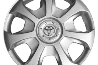 "Replace® - 15"" Remanufactured 7-Slot Silver Wheel Cover"