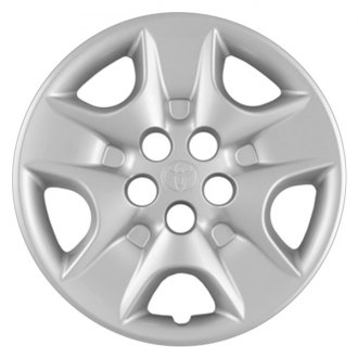 "Replace® - 15"" Remanufactured 5 Slots Silver Wheel Cover"