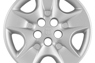 "Replace® - 15"" Remanufactured 5-Slot Silver Wheel Cover"