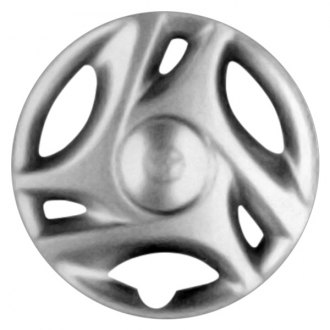 "Replace® - 16"" Remanufactured 3 Double Spokes Silver Wheel Cover"