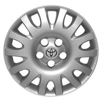 "Replace® - 16"" Remanufactured 14 Spokes Silver Wheel Cover"